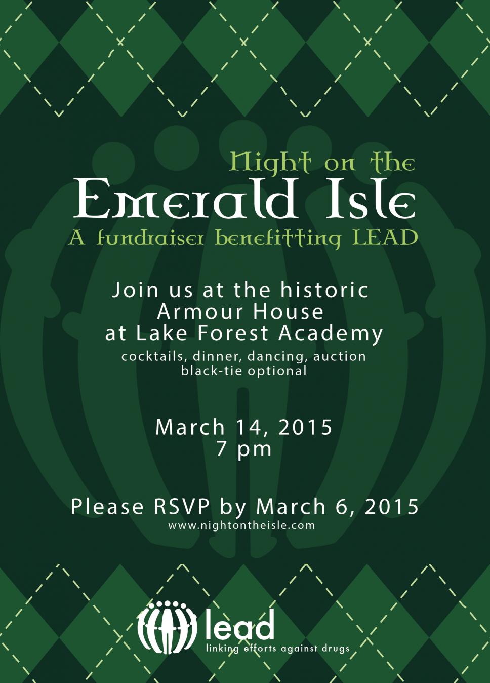 Night on the Emerald Isle – A Fundraiser …