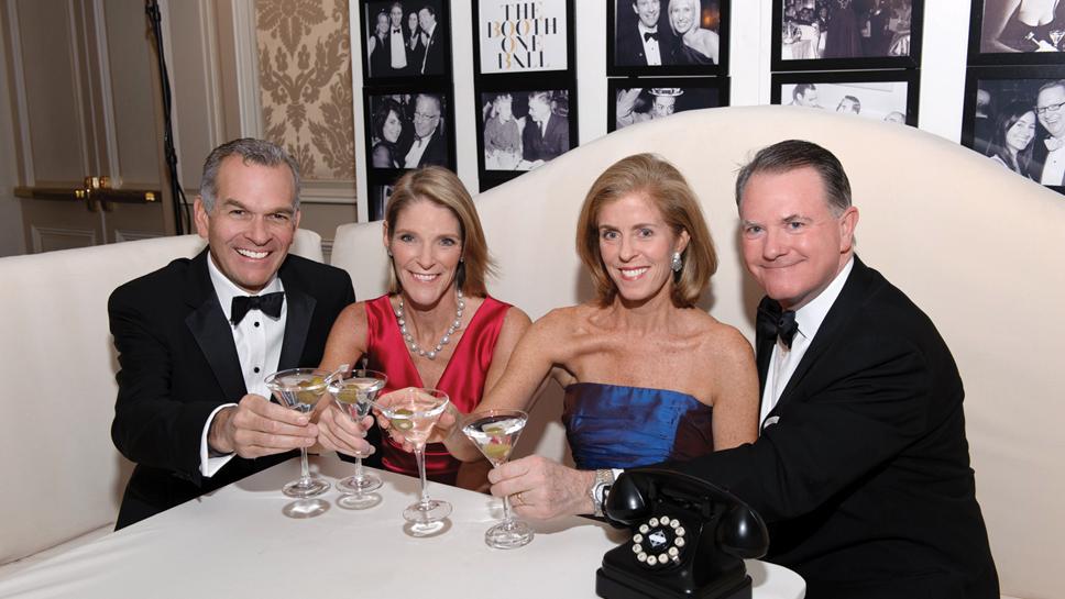 Andrew & Karen Slimmon, Diane & Paul Reilly