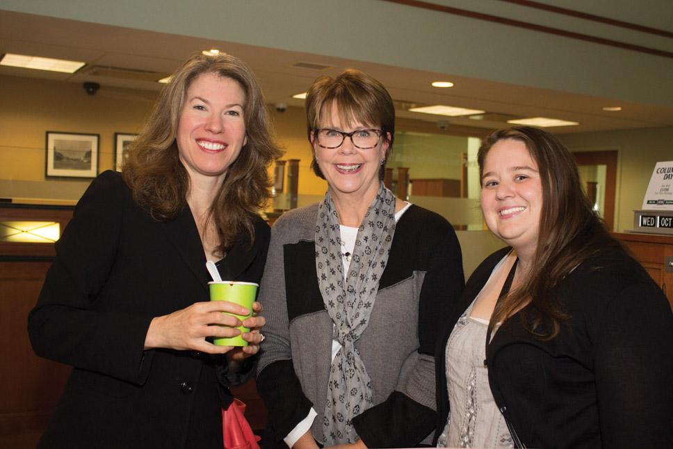 Lisa Brewer , Sue Sarmiento, & Stephanie Cardella