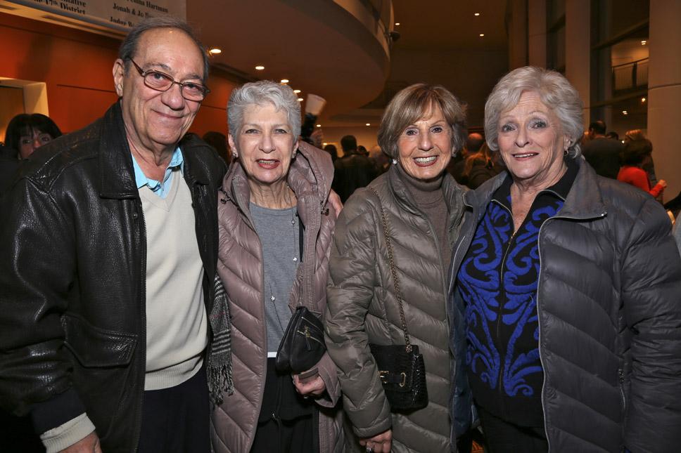 Evereti & Barbara Schwartz, Elaine Rosenberg, Marcy Shorr