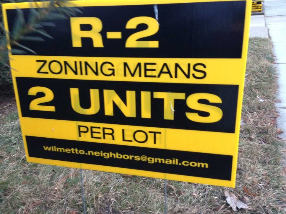 Wilmette Says No to 7-Unit Building