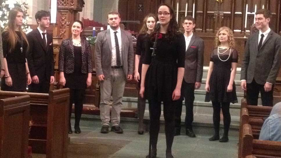 Local Brings Yale A Capella Group Home