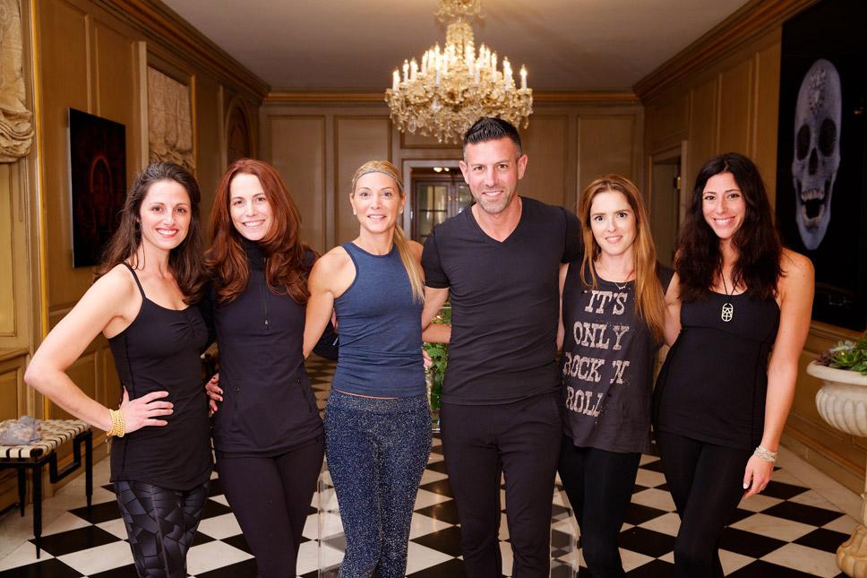 Rachel Coppola, Deb Wineman, Heather & Jeffrey Eiserman, Bridgett Piacenti, Stacy Levy