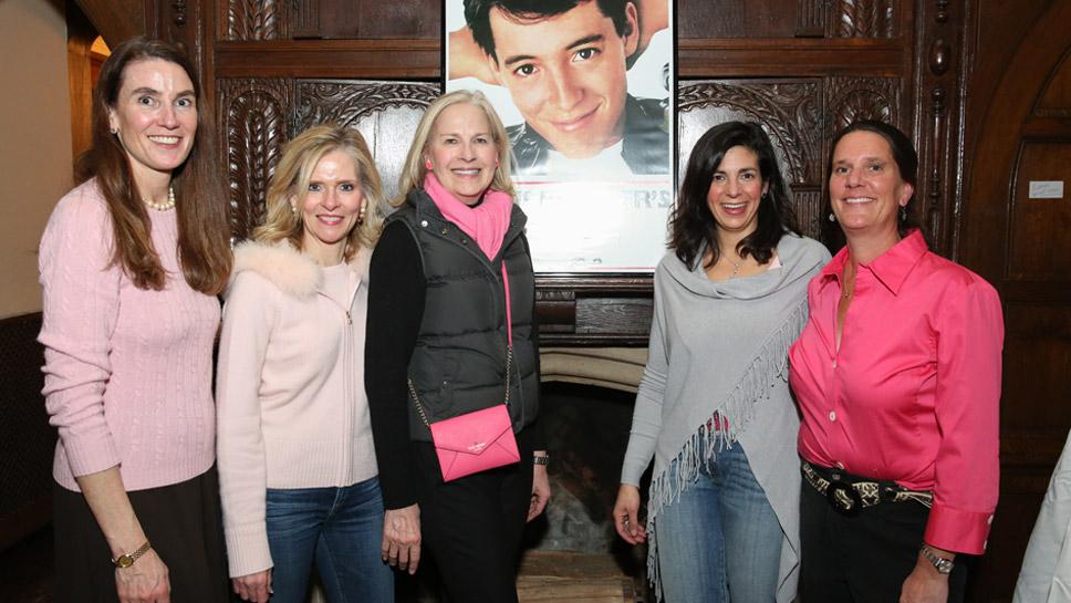 Leslie Dhamer, Elizabeth Luttig, Nancy Clemens, Jennifer Mower, and Leslie Davidson