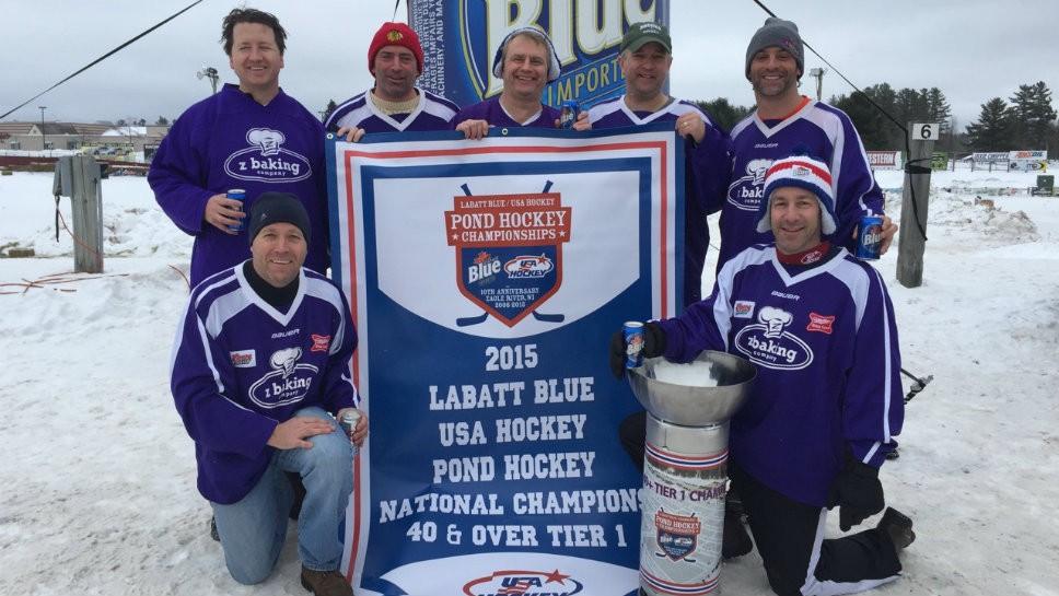 Score! North Shore Men Win Hockey Tourney