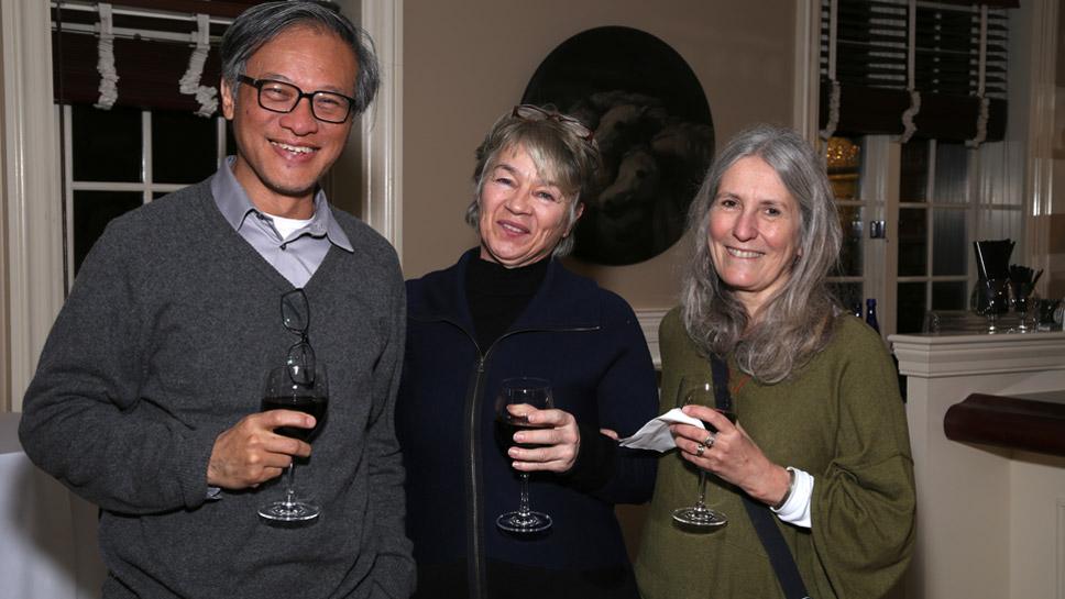 David Wang, Carol Russ, Beth Coughlin