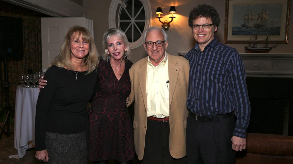 Cheryl Hawkins, Joanna Stout, David Lee, David Hawkins