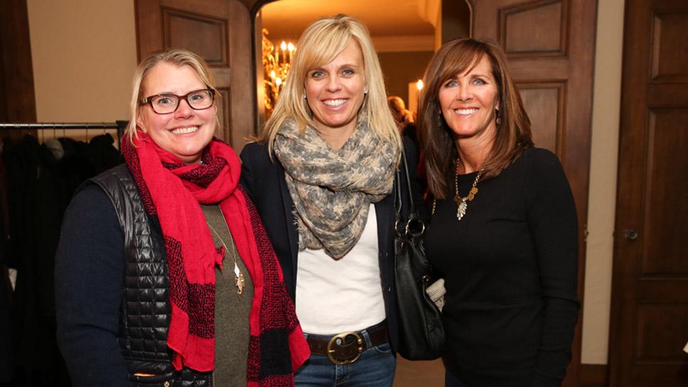 Missy Berger, Sondra Douglass, and Lisa Gerrity