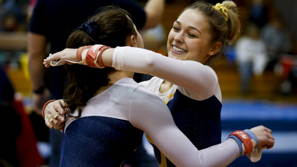 GBS gymnasts claim sectional crown