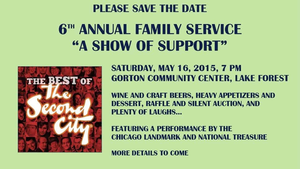 Save the Date: 'A Show of Support'