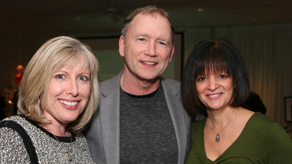 Sally McDonald, John & Lori Julian