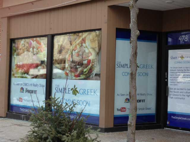 The Simple Greek will open this spring in Highland Park