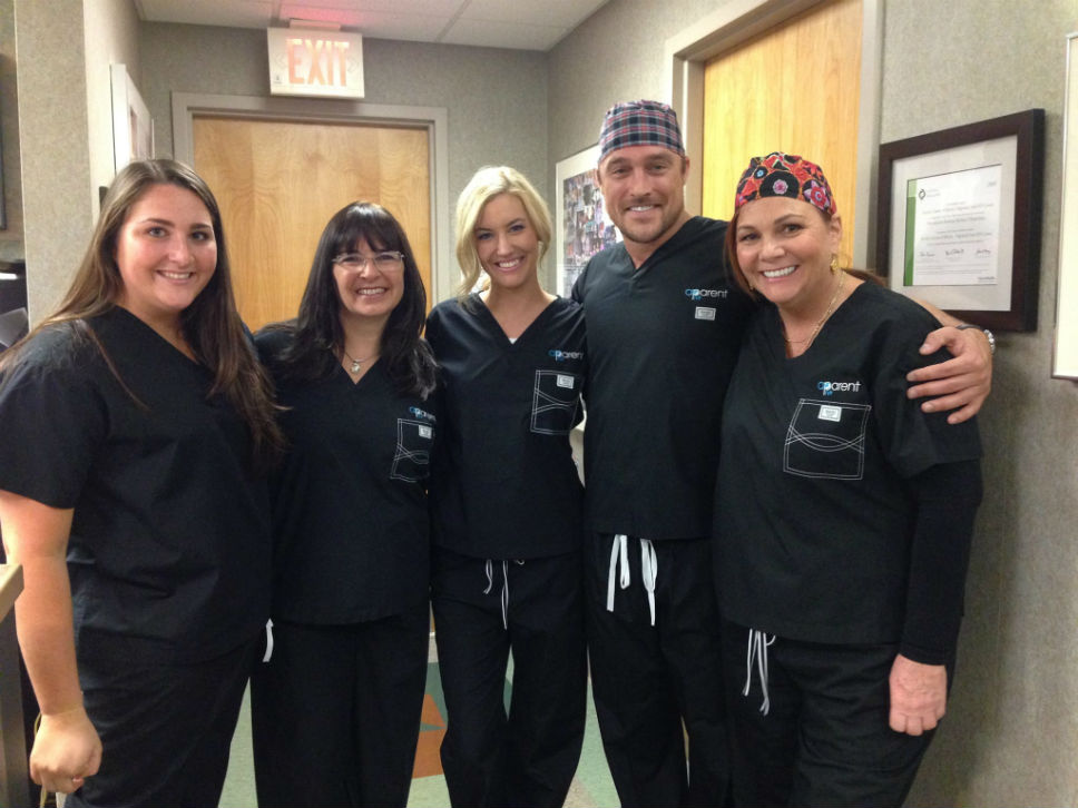Highland Park nurse Whitney Bischoff gave The Bachelor a tour of where she works.