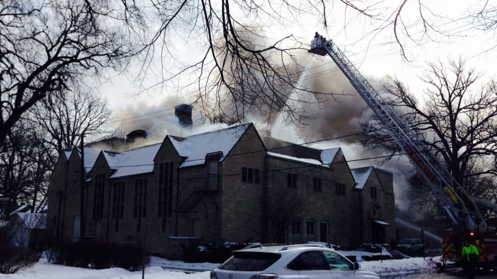 No Injuries In Wilmette Woman's Club Fire