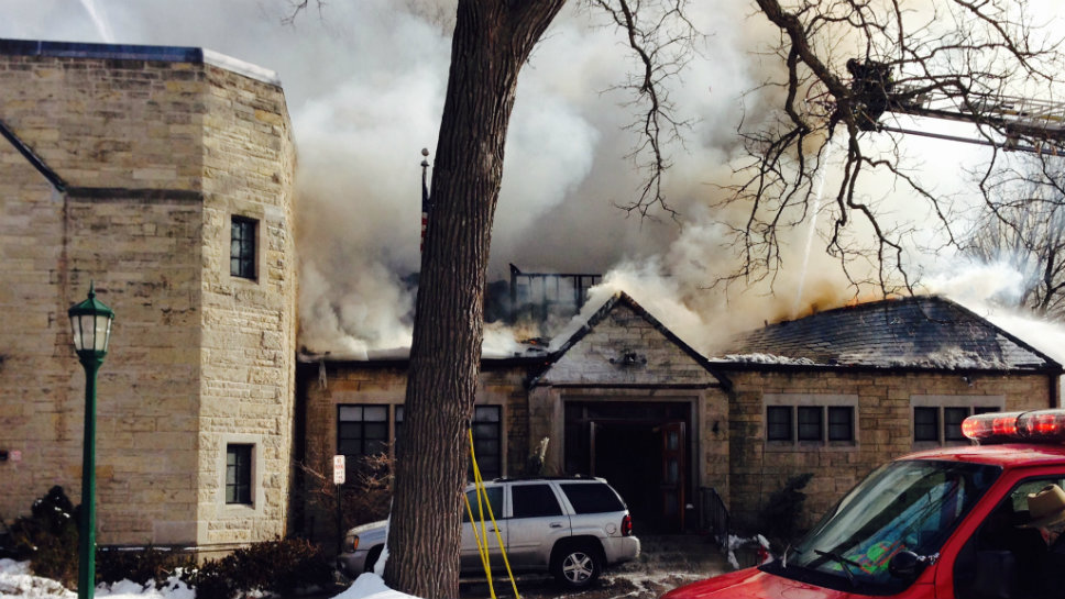 No Injuries At Wilmette Woman 39 S Club Fire