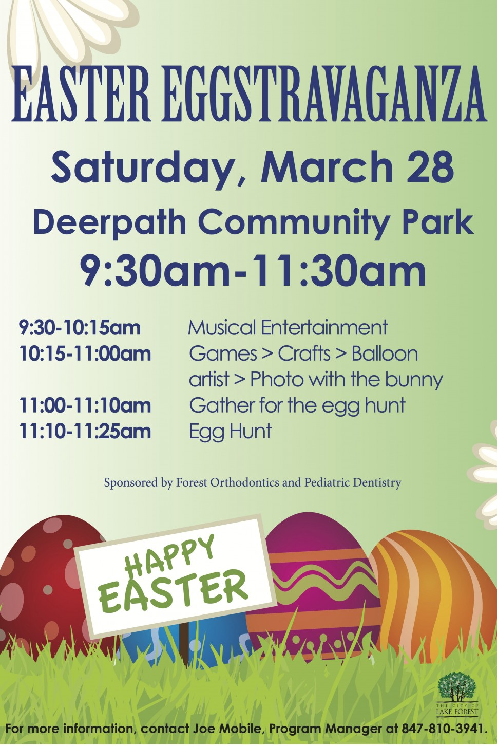 Easter Eggstravaganza in Lake Forest