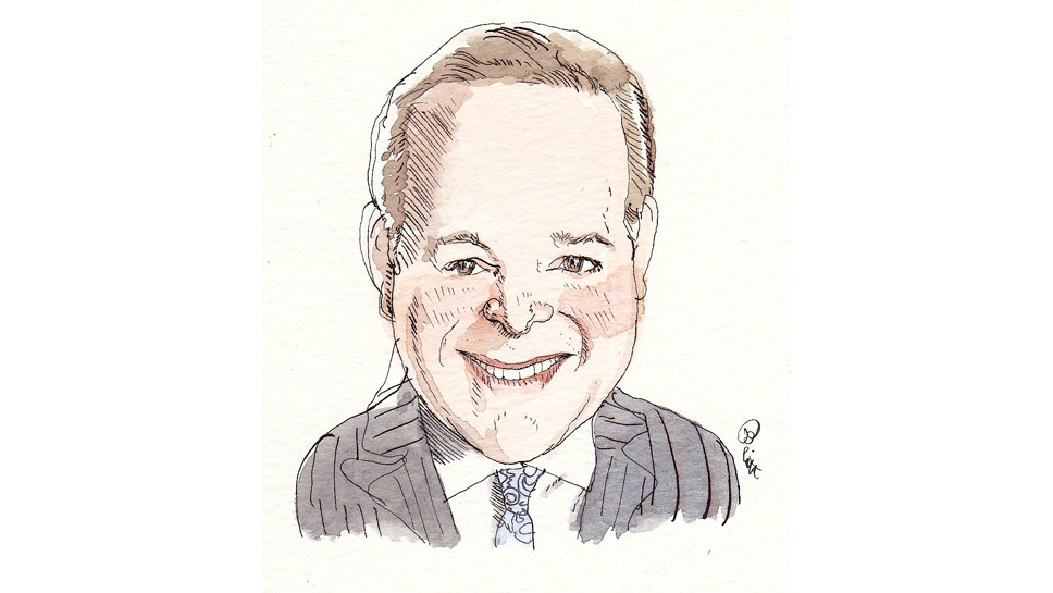 Andrew Berlin Illustration by Barry Blitt