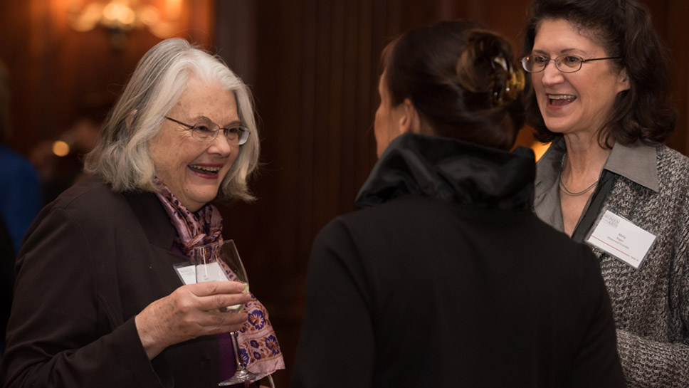 Ensemble Members Lois Smith, honoree Laurie Metcalf, & Molly Regan Photography by Mary Campbell