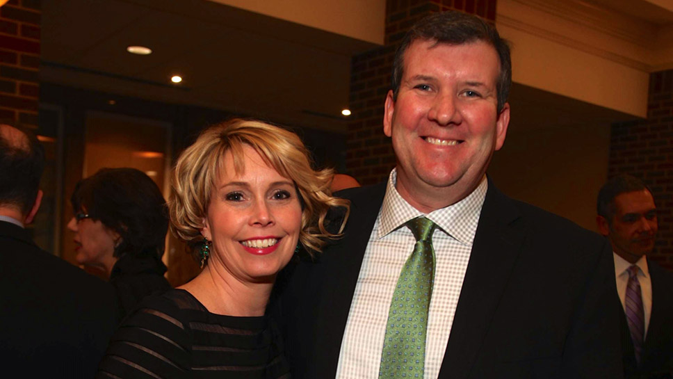 Chicago Residents Meggan and John Stanton served as chairs of this year's Black and White.