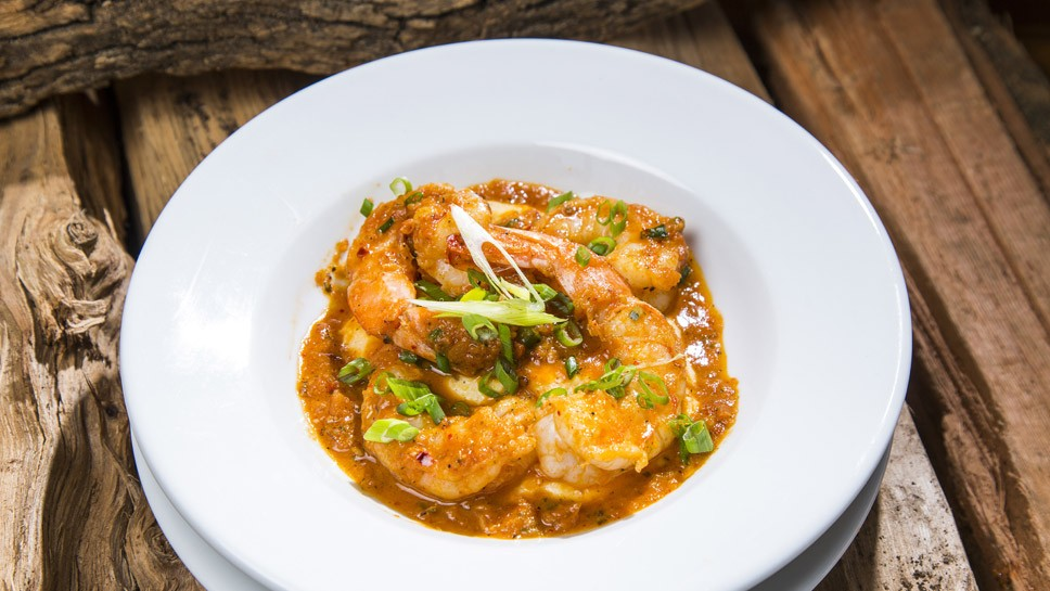 Chef Adds Zest to Shrimp