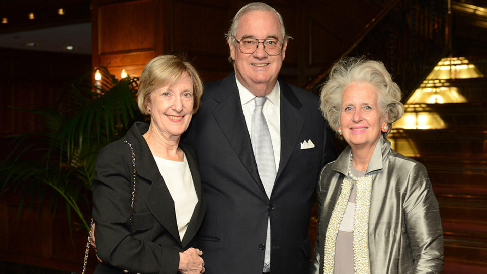 Judy & Howard McCue, Suzanne McCullagh