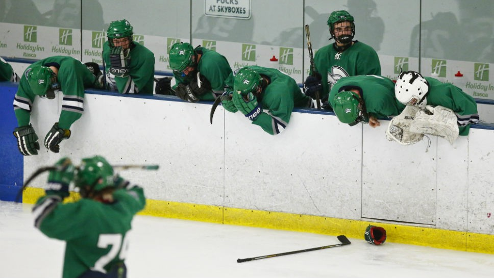 NT Green stopped cold … by hot goalie