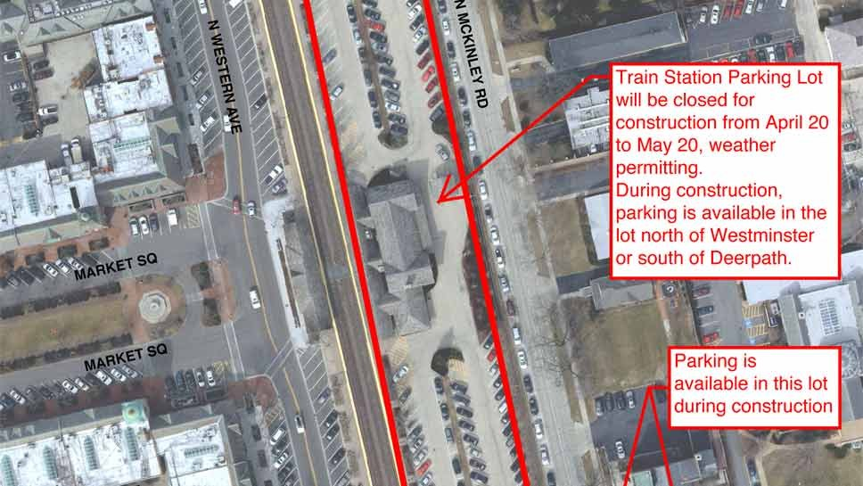 LF Train Station Lot To Close