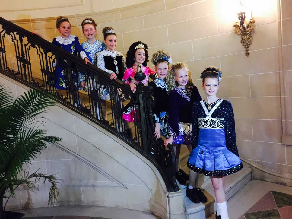 O'Hare School of Irish Dance performed at LEAD's fundraiser recently.