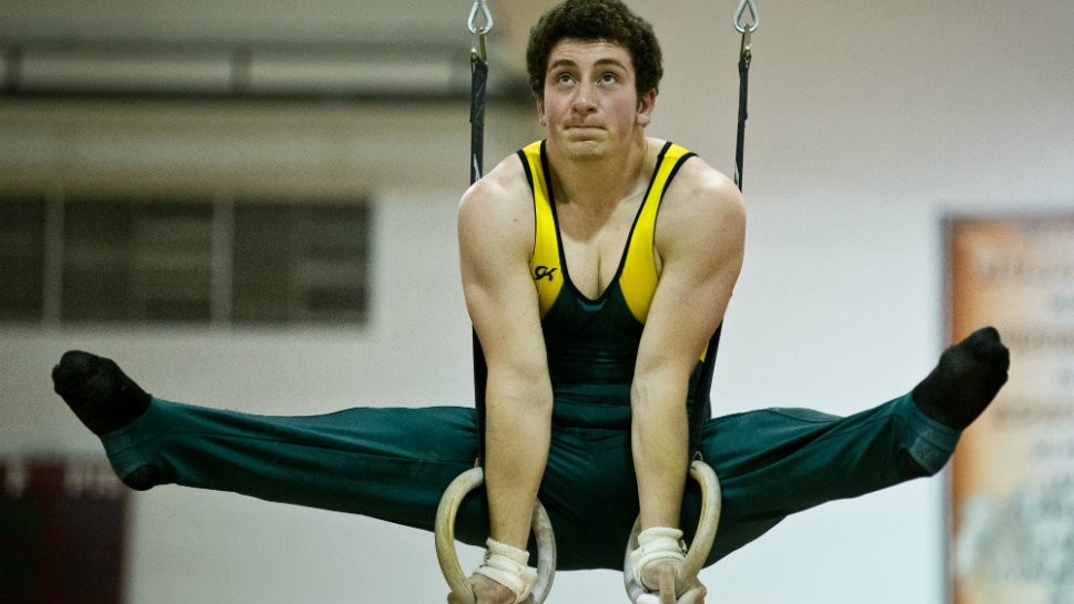 Snyder serves as GBN's ace gymnast
