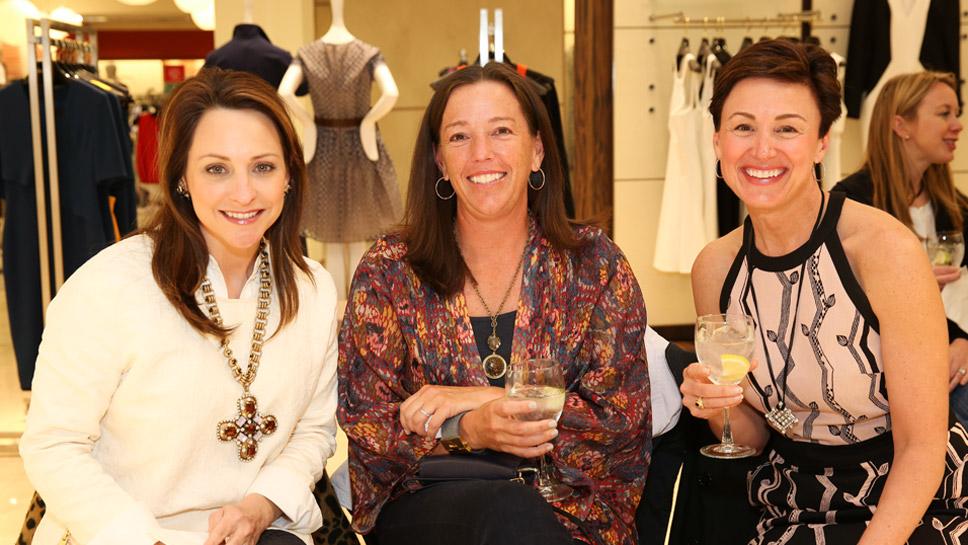 Carrie Scharbo, Liz Hayward, Dee Fortson