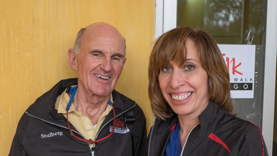 Dr. David Stulberg and Dr. Victoria Brander are North Shore physicians and co-founders of Operation Walk Chicago. Photos Submitted by Operation Walk