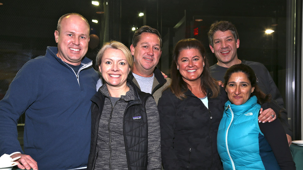 Dave & Tina Bar, Rich & Amy Thompson, Tony & Cathie Flannagan