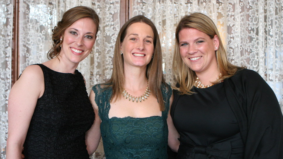 Andrea Walsh, Caitlin Morse, Lauren Hirsh