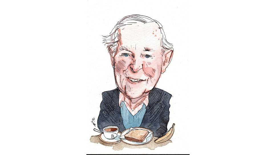 Geoffrey Atkins Illustration by Barry Blitt