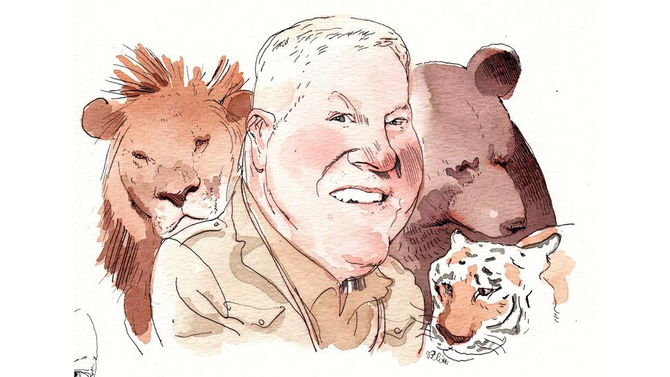 Stuart Strahl Illustration by Barry Blitt