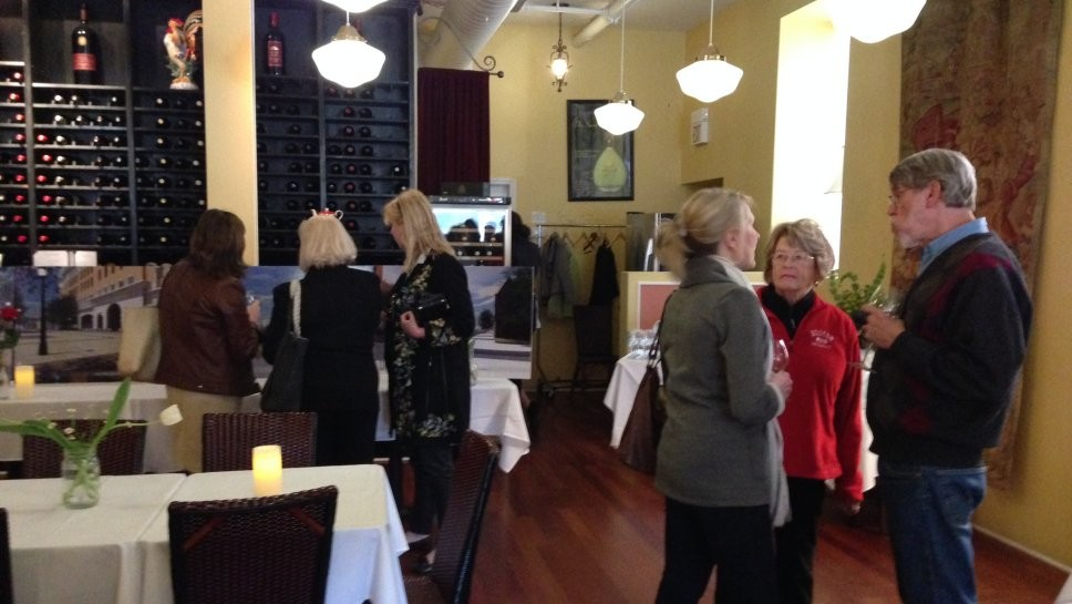 Mingling With 'One Winnetka' Team