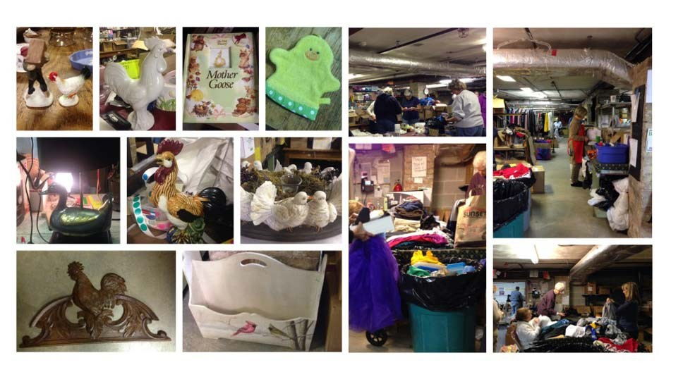 Spring Rummage Sale May 2