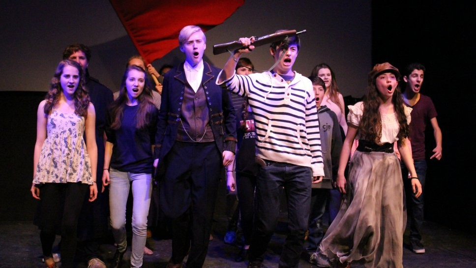 Kids Take On 'Les Mis'