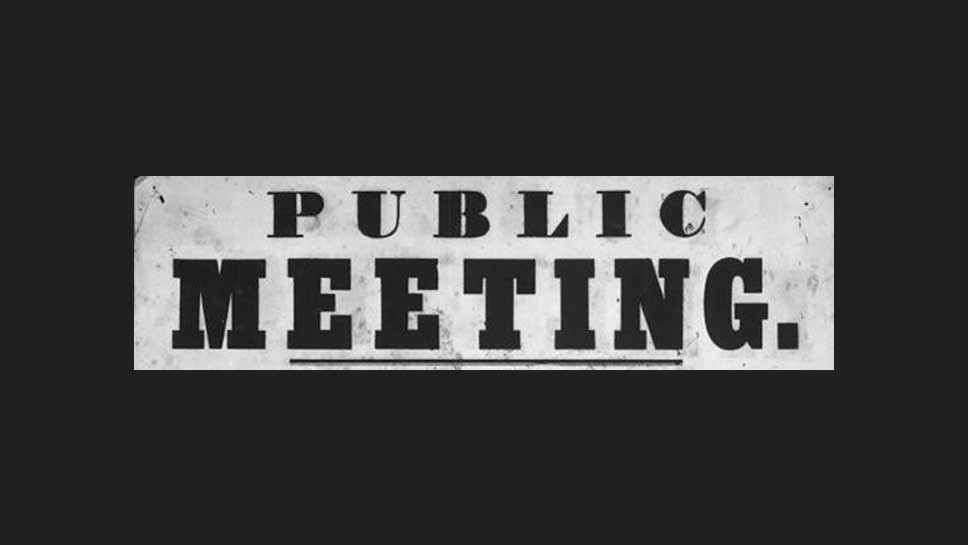 Army Corps Plans Public Meeting