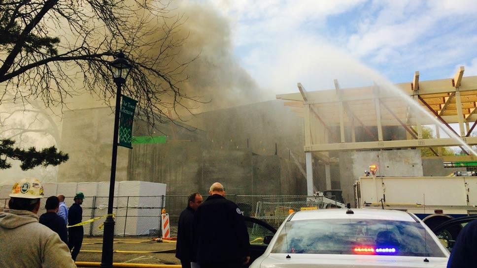 Fire At Writers Theatre in Glencoe