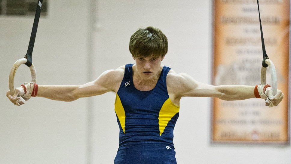 GBS gymnast is 'Fine' and dandy