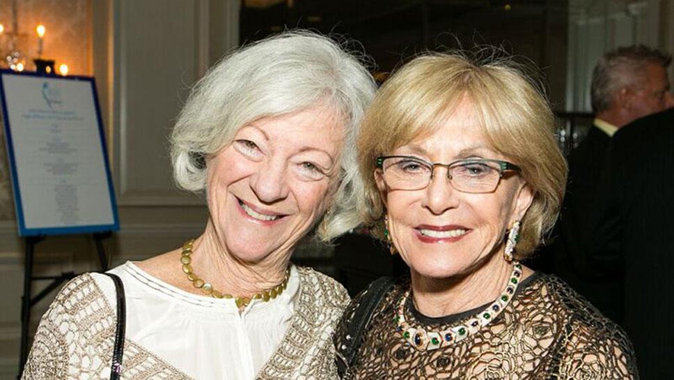 Rachel Stempel and Jeanne Malkin