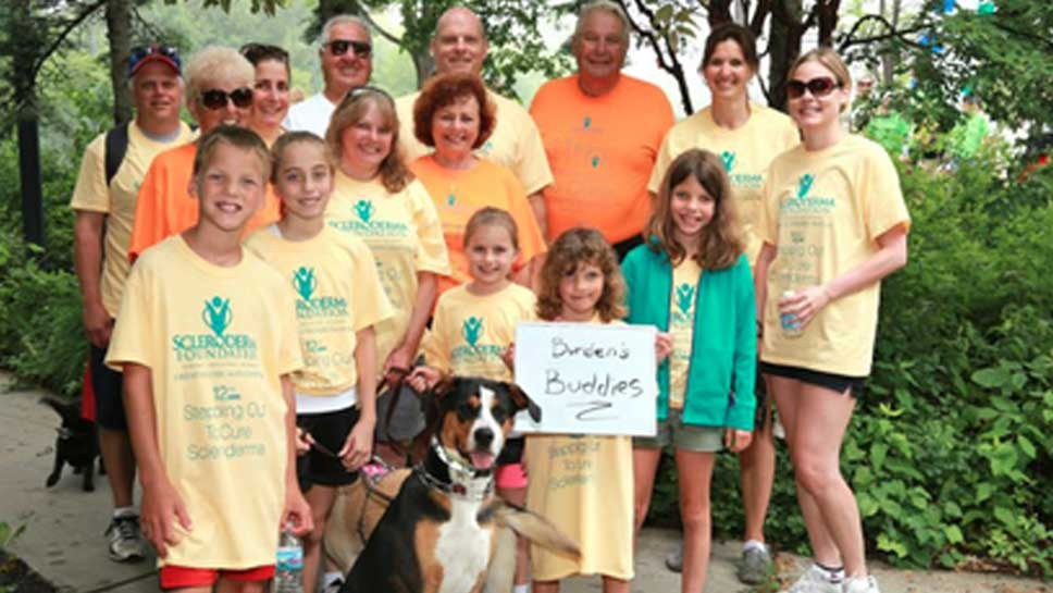 Stepping Out To Cure Scleroderma