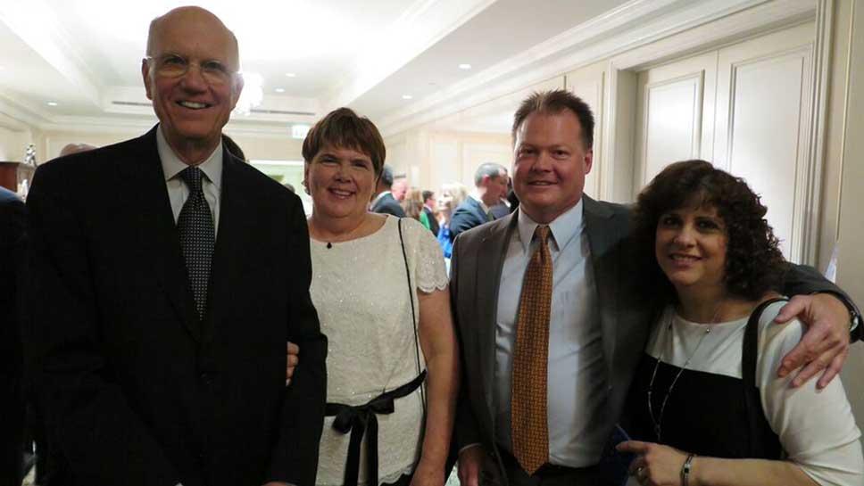 Bruce & Jeannie Breitweiser, Steve & Diana Gustafson
