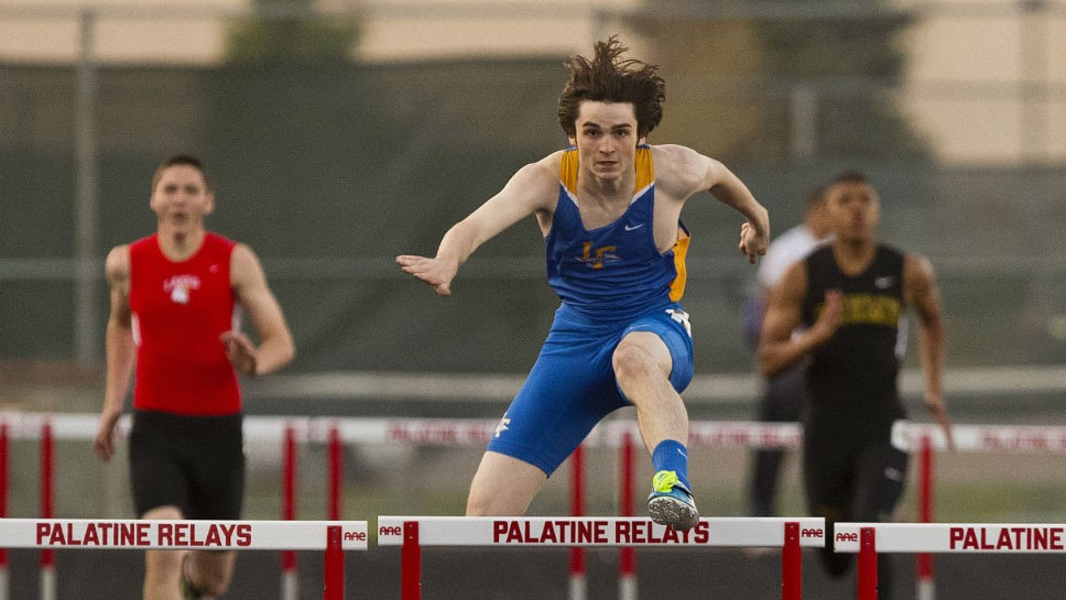 LF's Hoch strikes gold at sectional