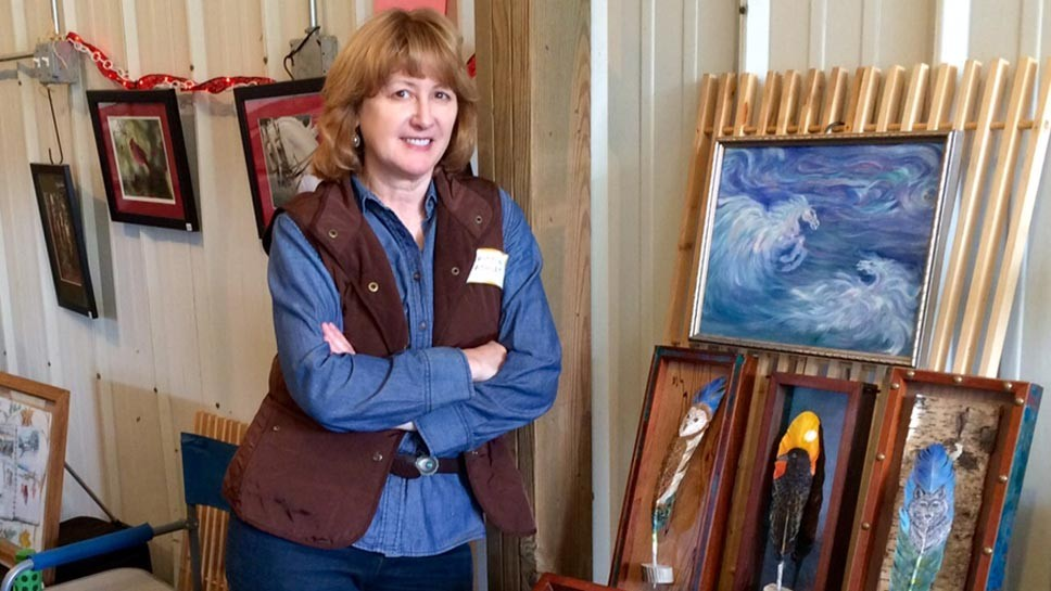 'Artists On The Bluff' On The Up