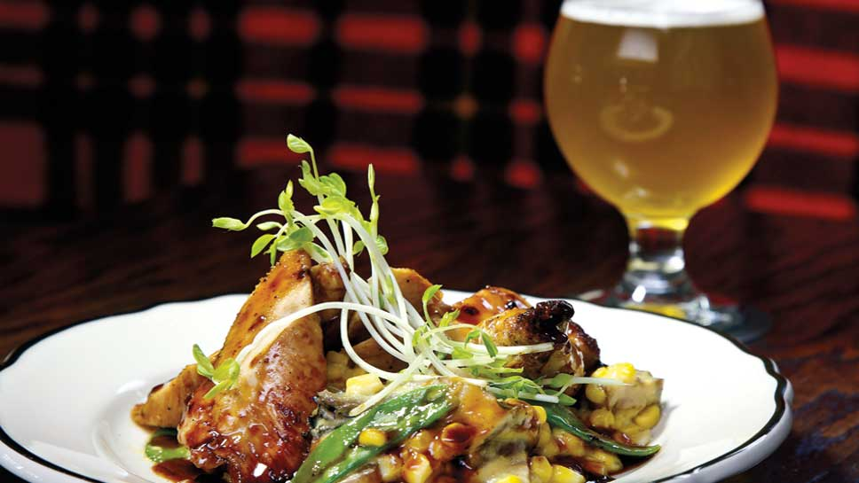 Bangers & Lace's No Spring Chicken was inspired by the first spring day that topped 60 degrees this year.