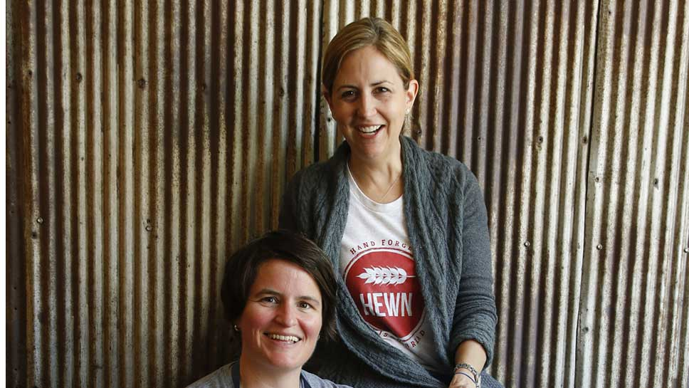 Hewn co-owners Julie Matthei and Ellen King.  Photography by Joel Lerner