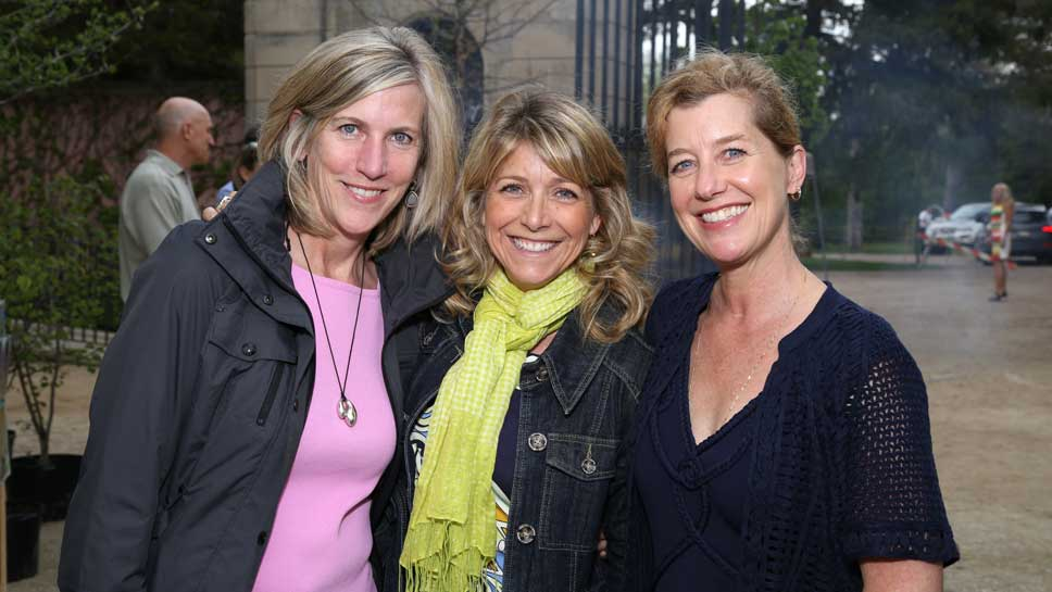 Meg Barnhart, Sarah Gunderson, Megan Morris