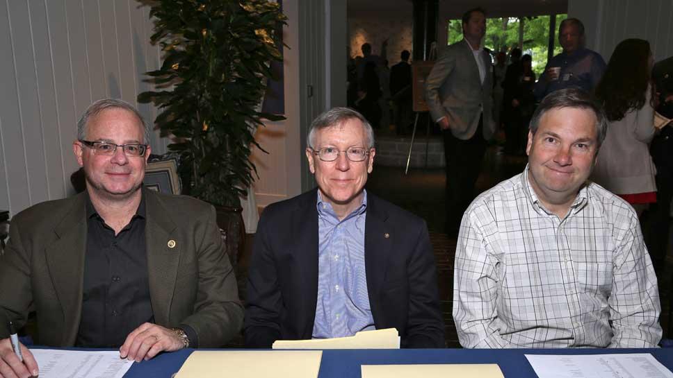 Michael Edelberg, Paul Lemieux, Rich Brandel